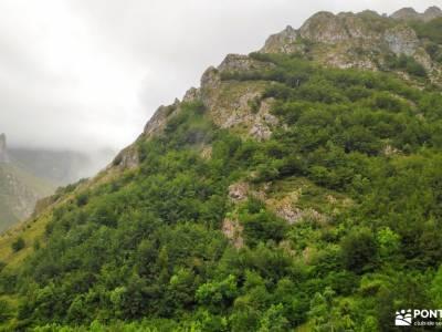 Corazón de Picos de Europa;playa de las catedrales parque del capricho fuentes del algar poncebos u